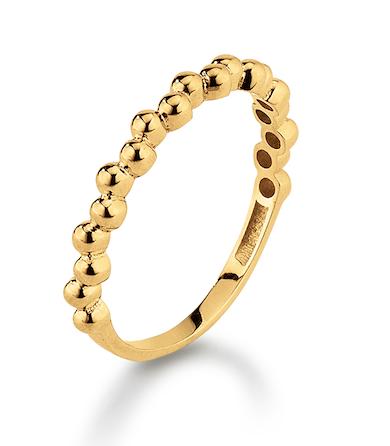 Kranz   Ziegler 8kt Guld Ring M. Kugler - Grindsted Guldsmed 52d720f91cb36